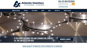 Stainless Steel Supplier Launches New Site