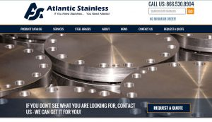 Stainless Steel Supplier Launches Responsive Website